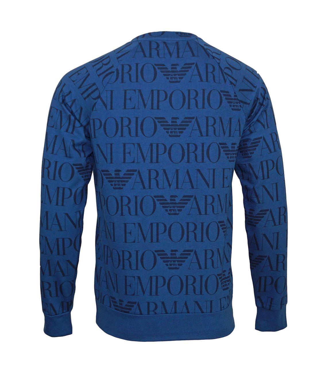 Emporio Armani Sweater Rundhals Pullover 111062 8P566 13634 F18-EAS1