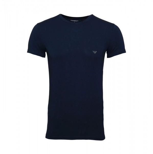 Emporio Armani T-Shirt Rundhals 111035 9P745 00135 navy FS19-EAT1