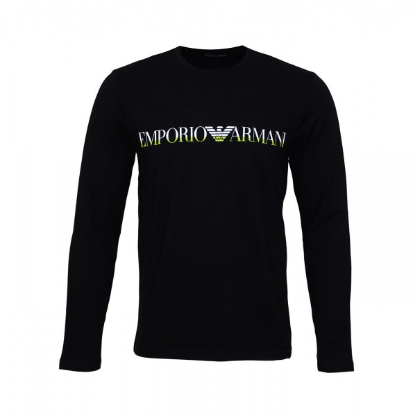 Emporio Armani Longsleeve R-Neck 111653 9A516 00020 black SH19-EAX2