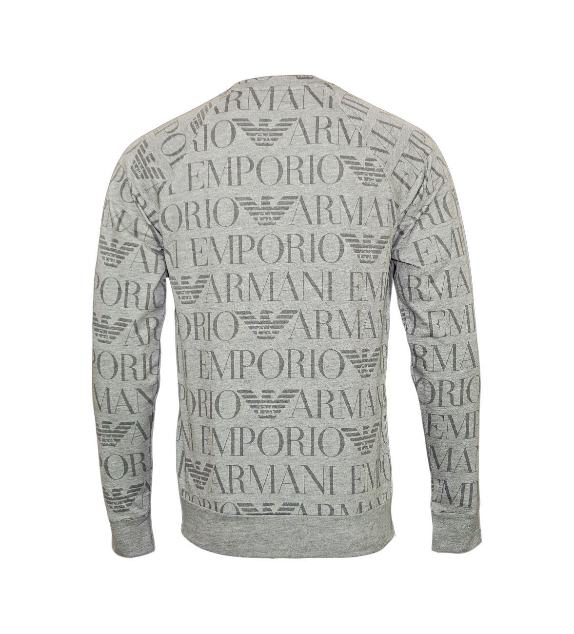 Emporio Armani Sweater Rundhals Pullover 111062 8P566 04748 F18-EAS1