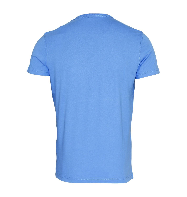 TOMMY HILFIGER Shirt T-Shirt Tee-Shirt Gow cn tee ss hellblau, sky