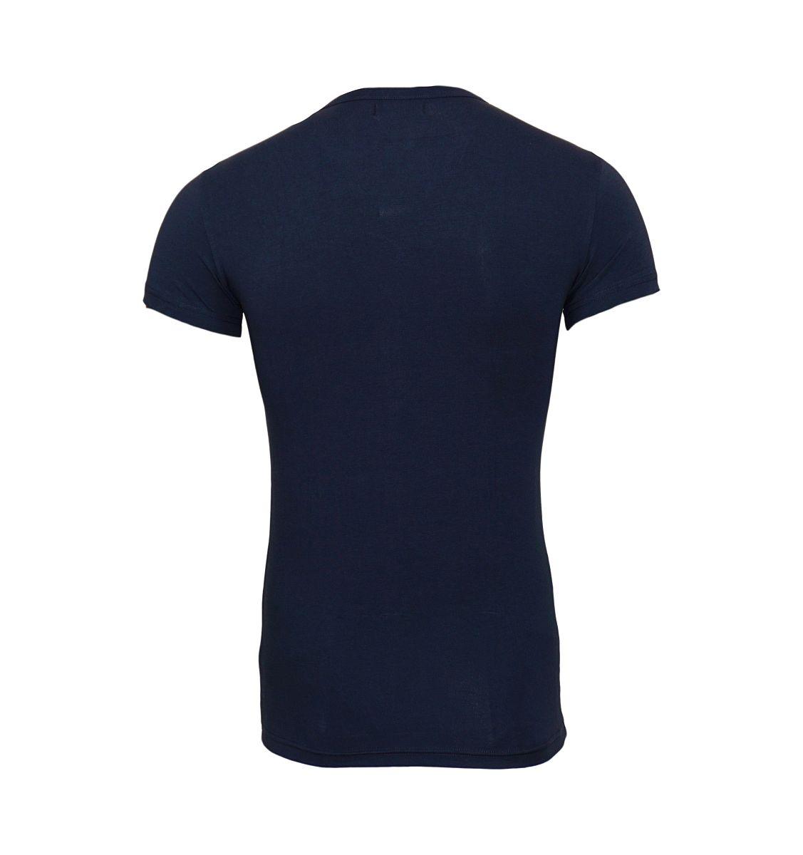 Emporio Armani T-Shirt Shirt Rundhals 111035 7P525 00135 MARINE HW17-ART