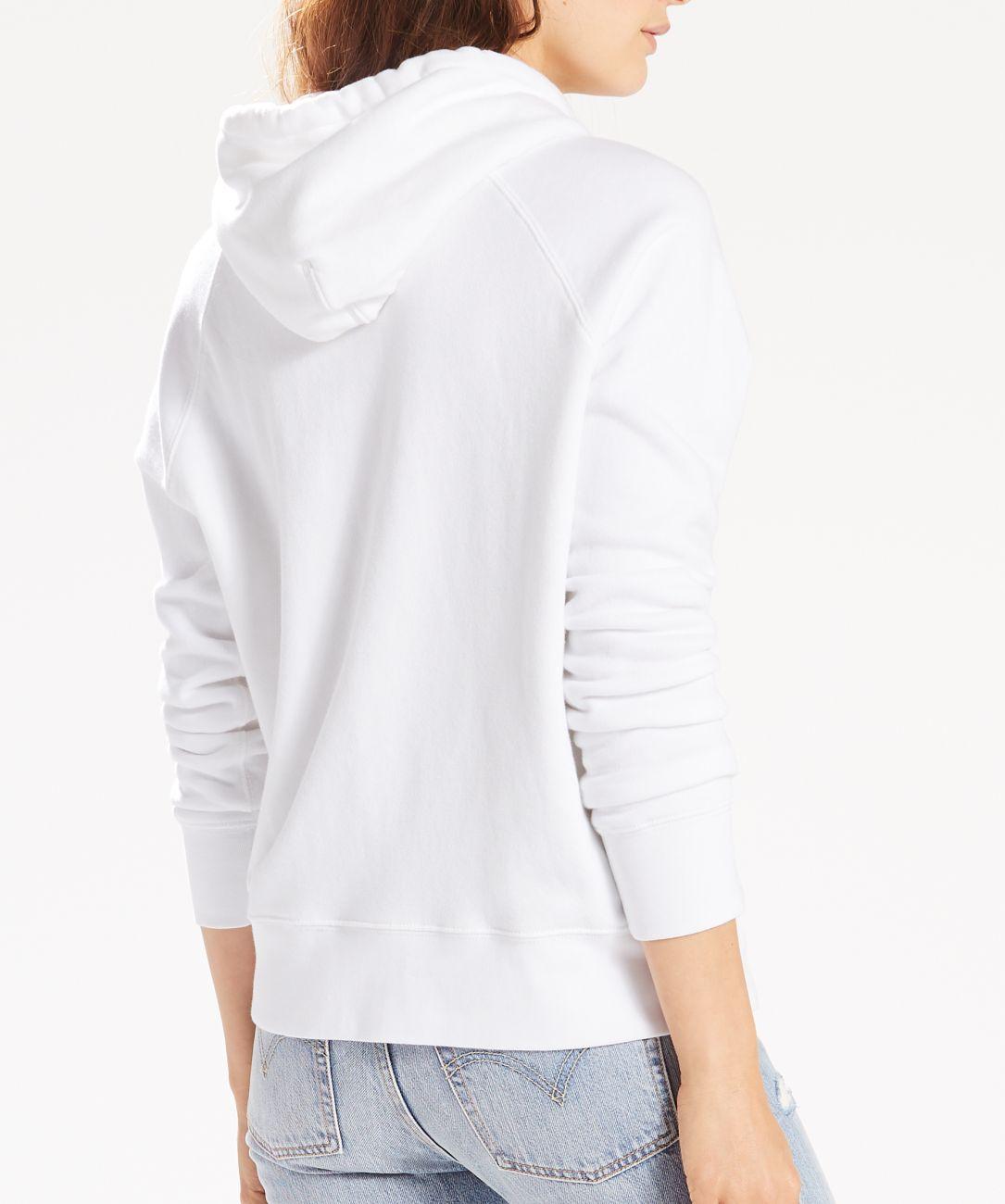 LEVIS Pullover für Damen Hoodie Sweater 35946-0010 weiss W18-LDP1