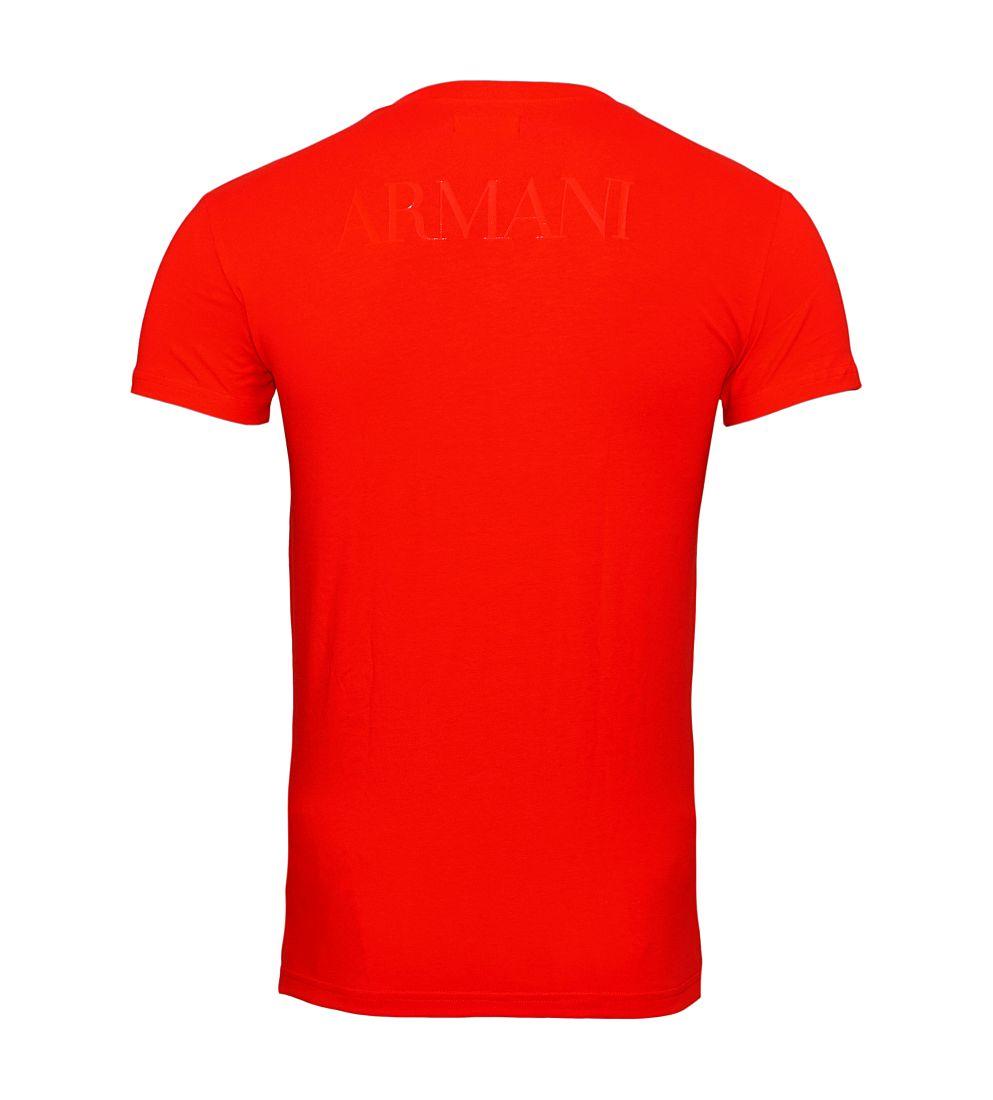 EMPORIO ARMANI Shirt T-Shirt ROSSO 110810 7P516 00074 WF17-EATS1