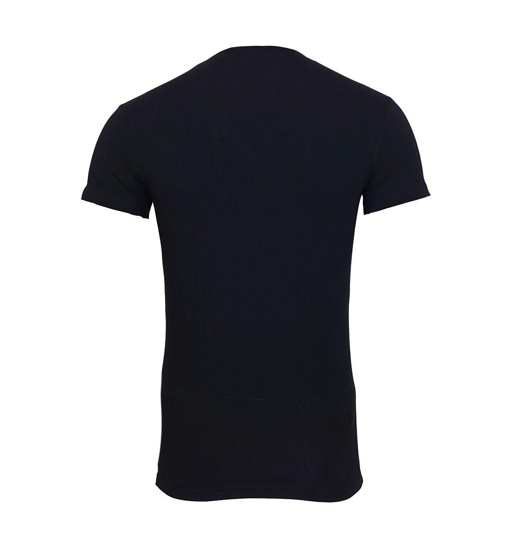 Emporio Armani Shirt T-Shirt schwarz KNIT T-SHIRT 110810 6A745 00020 nero HW16A1