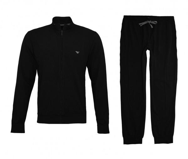 Emporio Armani Trainingsanzug Jacke + Hose 111795 CC570 00020 black SS19-EAT1