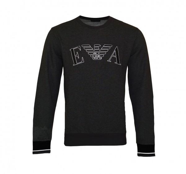 Emporio Armani Sweater R-Neck 111785 9A571 06749 anthrazit SH19-EAX3