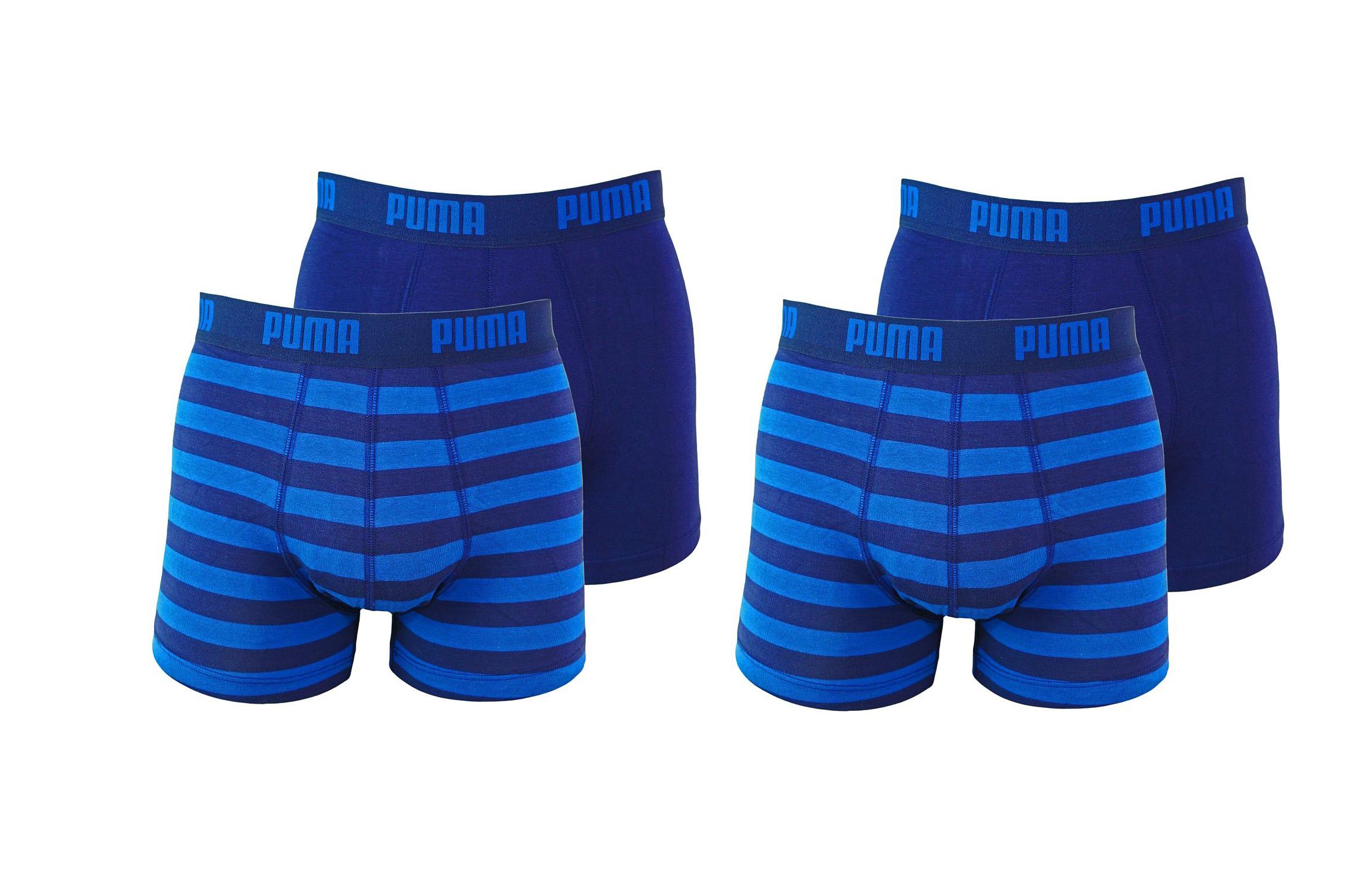 PUMA Shorts Unterhosen 2 x 2er Pack Boxer 651001001 056 020 blue SF17-PMS2