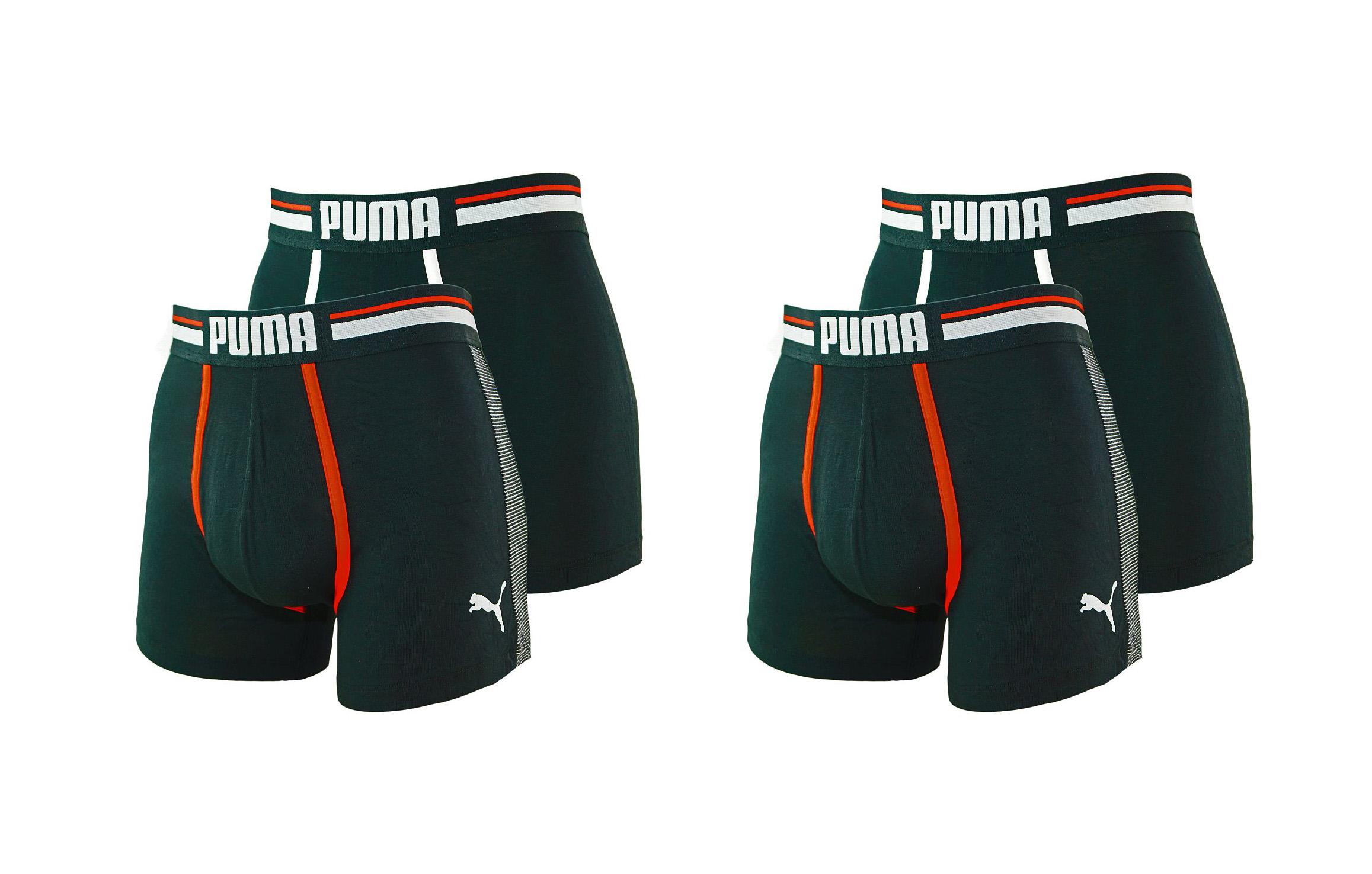 PUMA Shorts Unterhosen 2 x 2er Pack Boxer 571005001 200 020 black SF17-PMS2