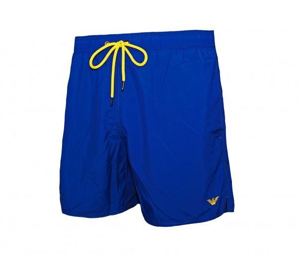 Emporio Armani Badeshorts Boxer 211740 9P421 15734 washed blue SS19-EAB2