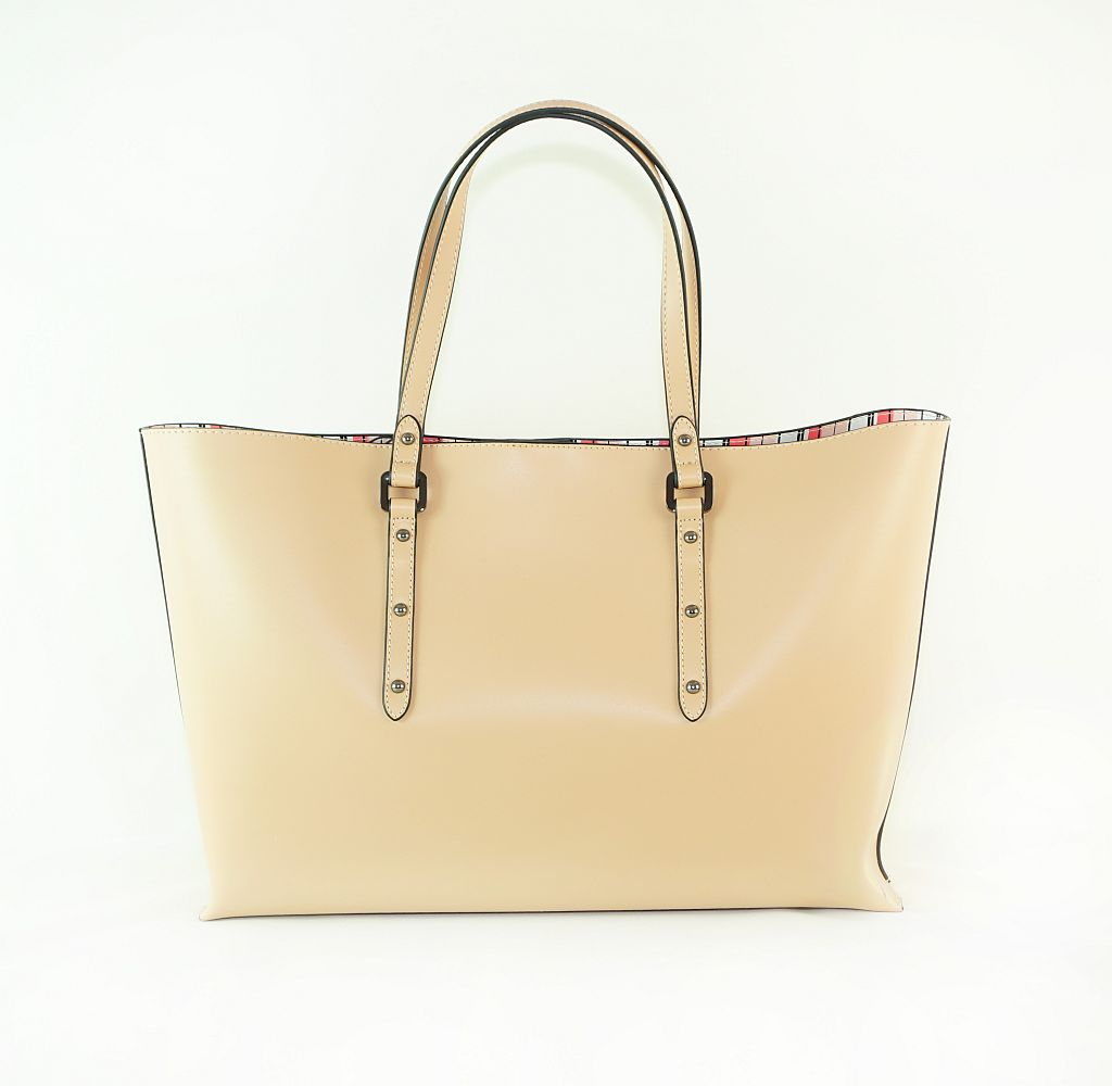 Armani Jeans Tasche Borsa Shopping Castigla 922171 7P757 00470 Cipria Handtasche S17-AJT1