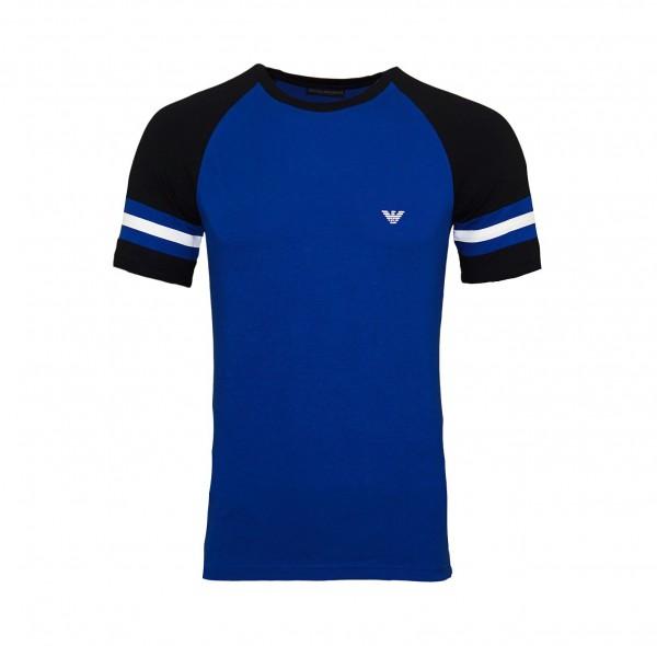 Emporio Armani T-Shirt Rundhals 111811 9P529 15834 dunkelblau FS19-EAT1