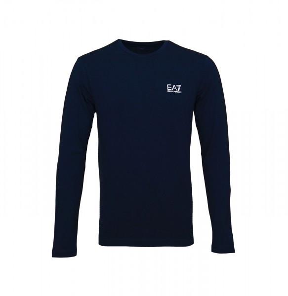 Emporio Armani EA7 Longsleeve Sweater 8NPT55 PJM5Z 1578 Night Blue