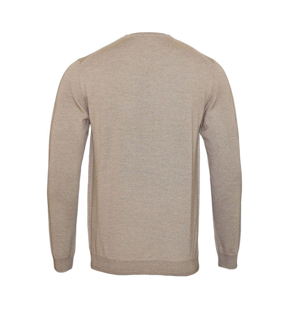 JOOP Strickpullover Pullover Denny Rundhals 10001600 259 beige S17-JOP1