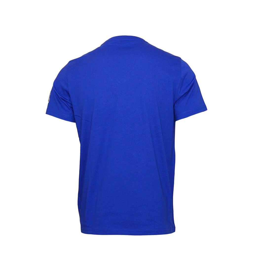 Ralph Lauren T-Shirt NC7W blau V-Ausschnitt SH17-RLTS1