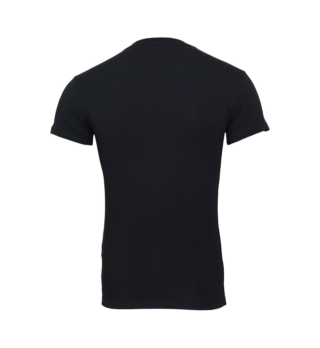 Emporio Armani T-Shirts V-Ausschnitt 110810 8A516 00020 NERO SH18-EAT2