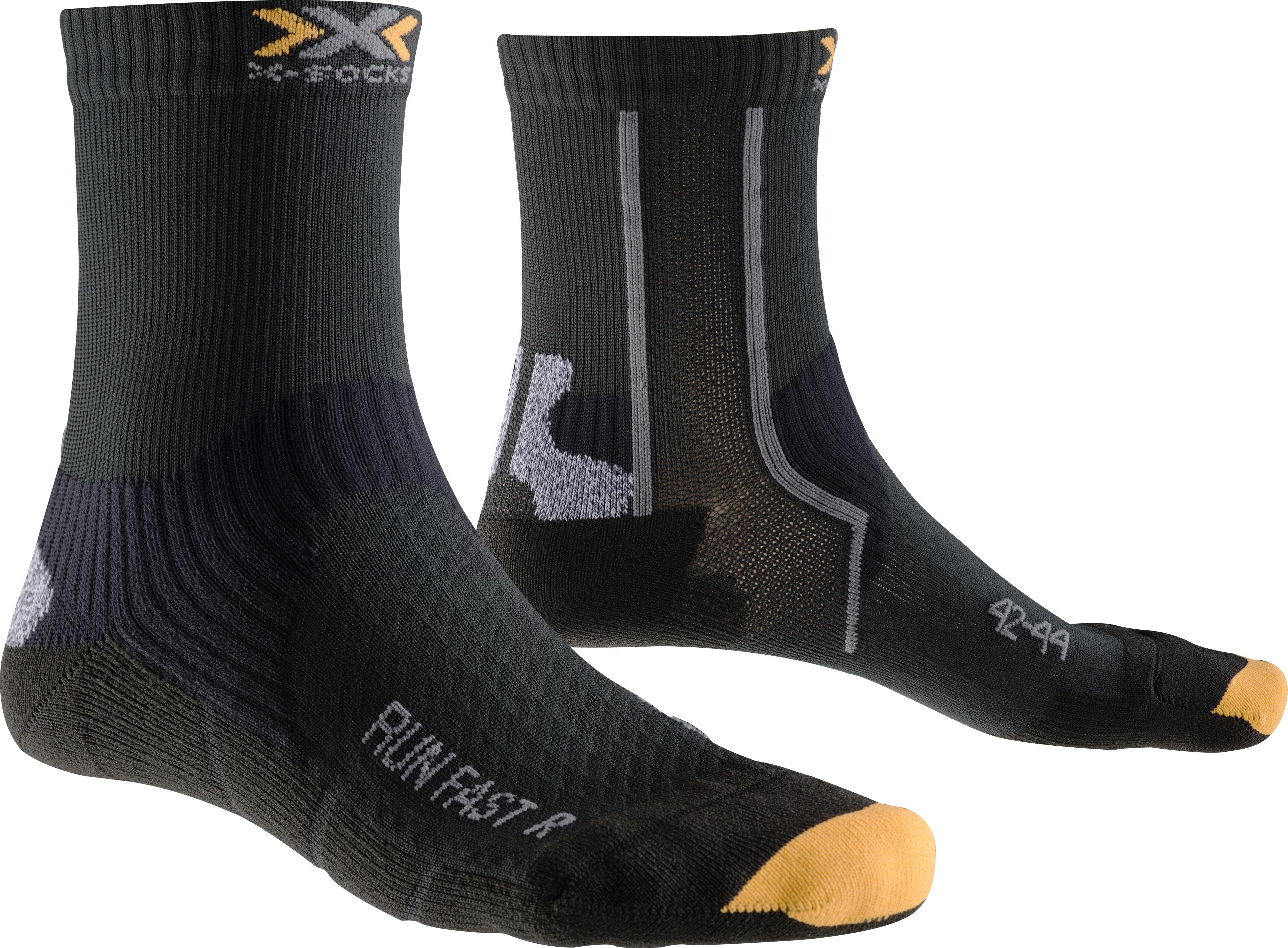 X-SOCKS Socken, Strümpfe Run Fast schwarz unisex von Gr. 35 - 47 S17-XS1