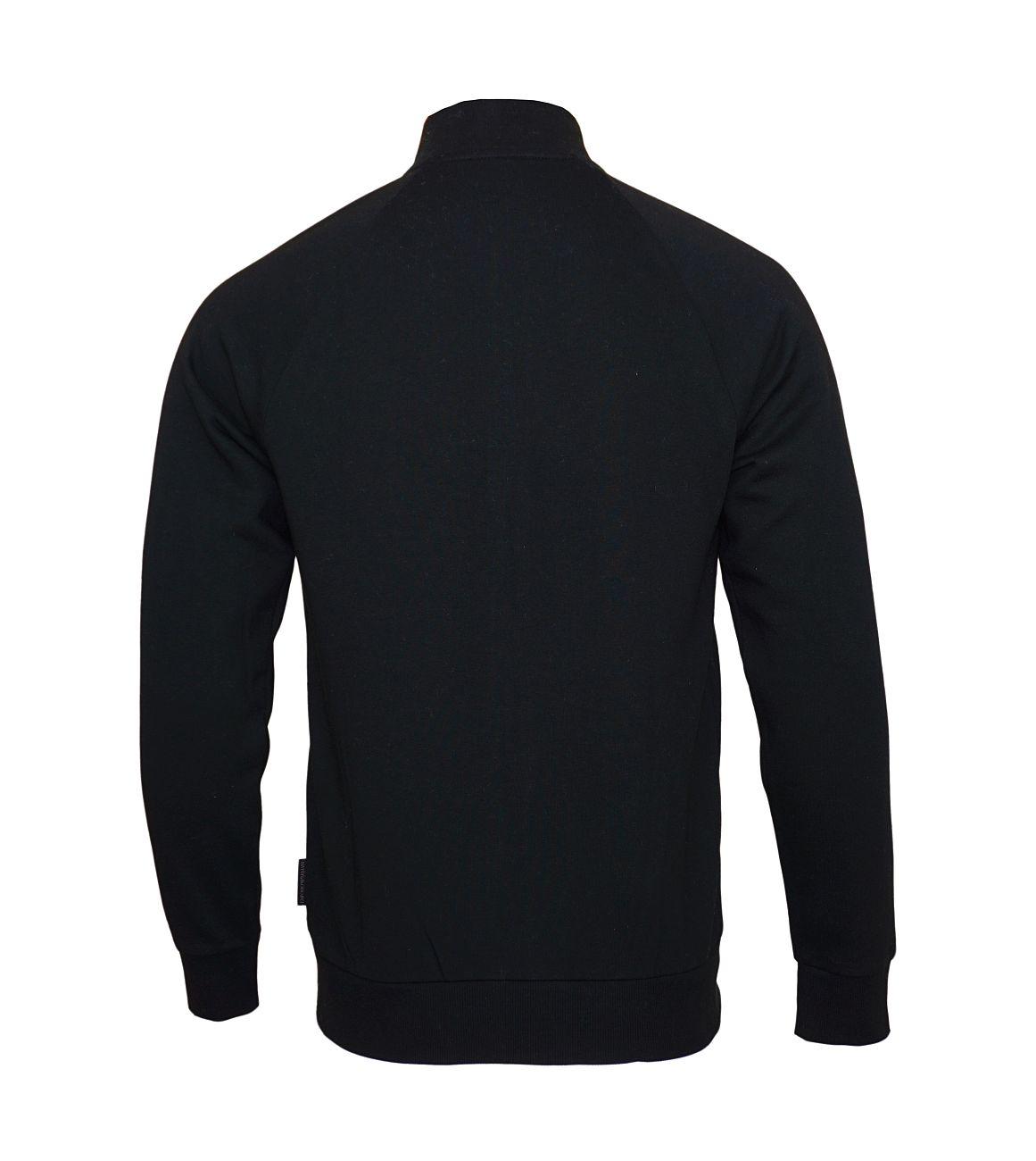 Emporio Armani Sweater Jacke mit Reißverschluss 111570 8A571 00020 NERO SH18-EAS1