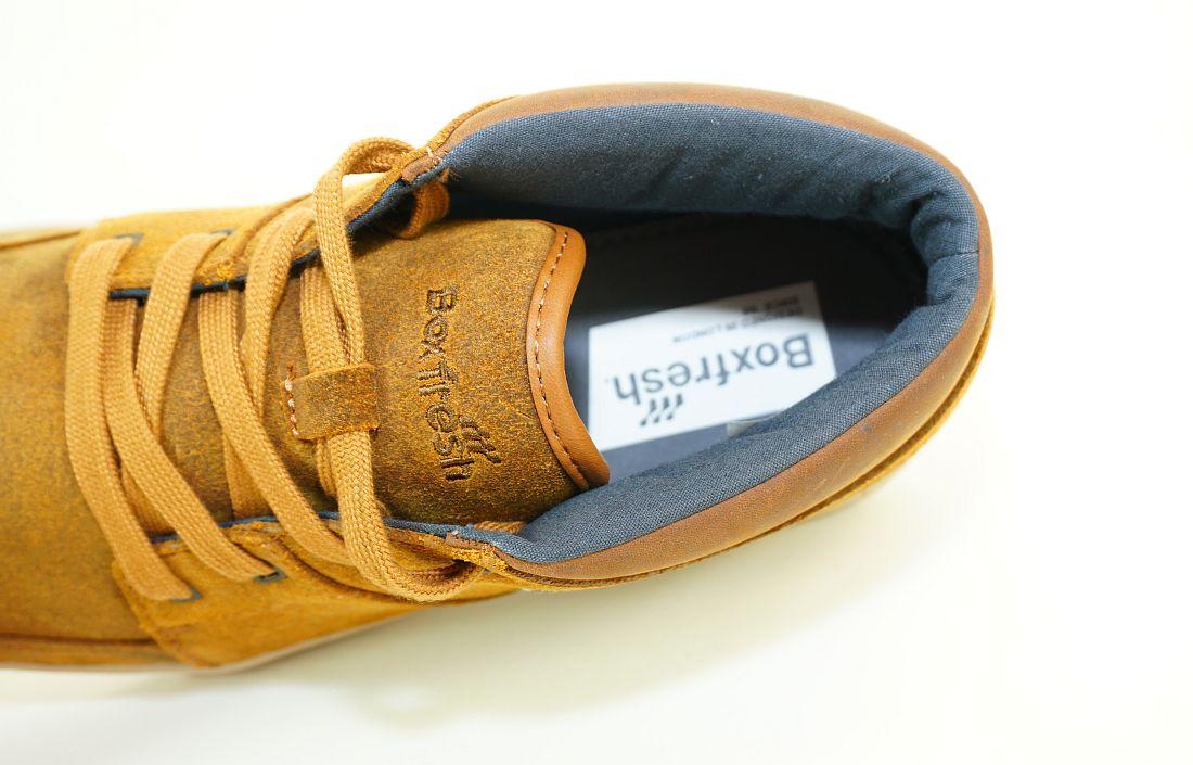 Boxfresh Schnürschuhe Schuhe Cluff UH WXD E-15186 Darkcamel Sneaker SH17-BFS1