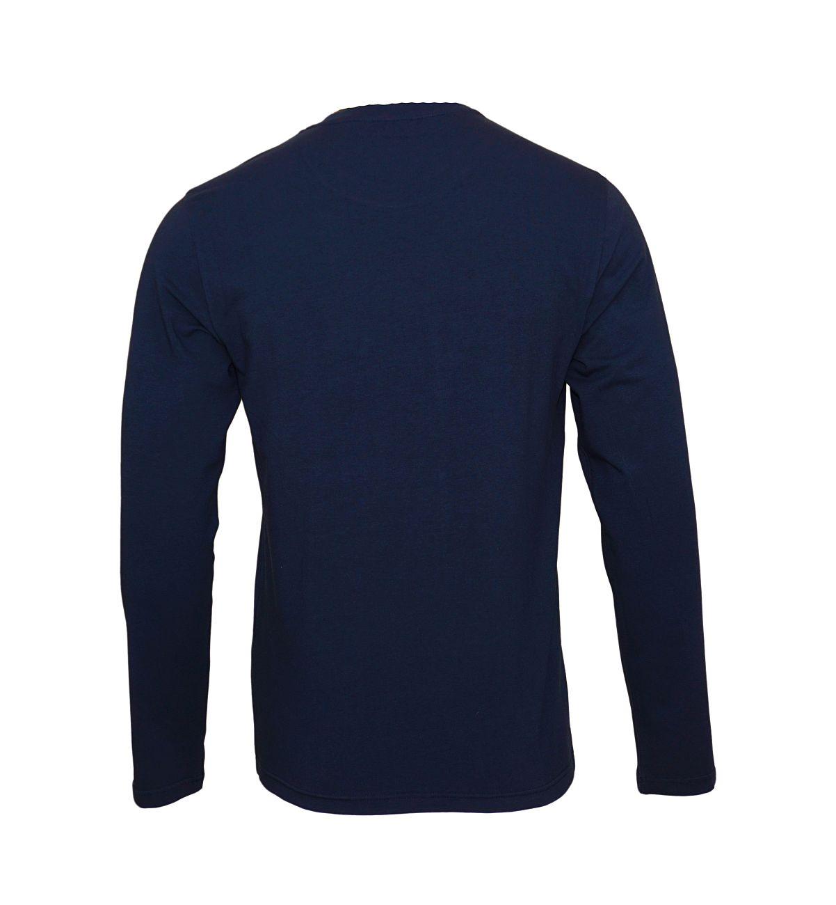 Emporio Armani Longsleeve Rundhals Shirt 111653 8A720 00135 MARINE WX18-EAX