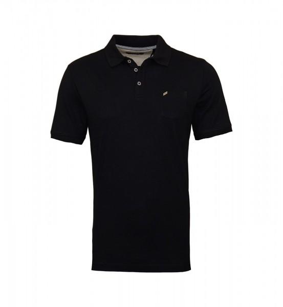 Daniel Hechter Poloshirt Polo Jersey 75015 101915 990 black WF20-DHP1