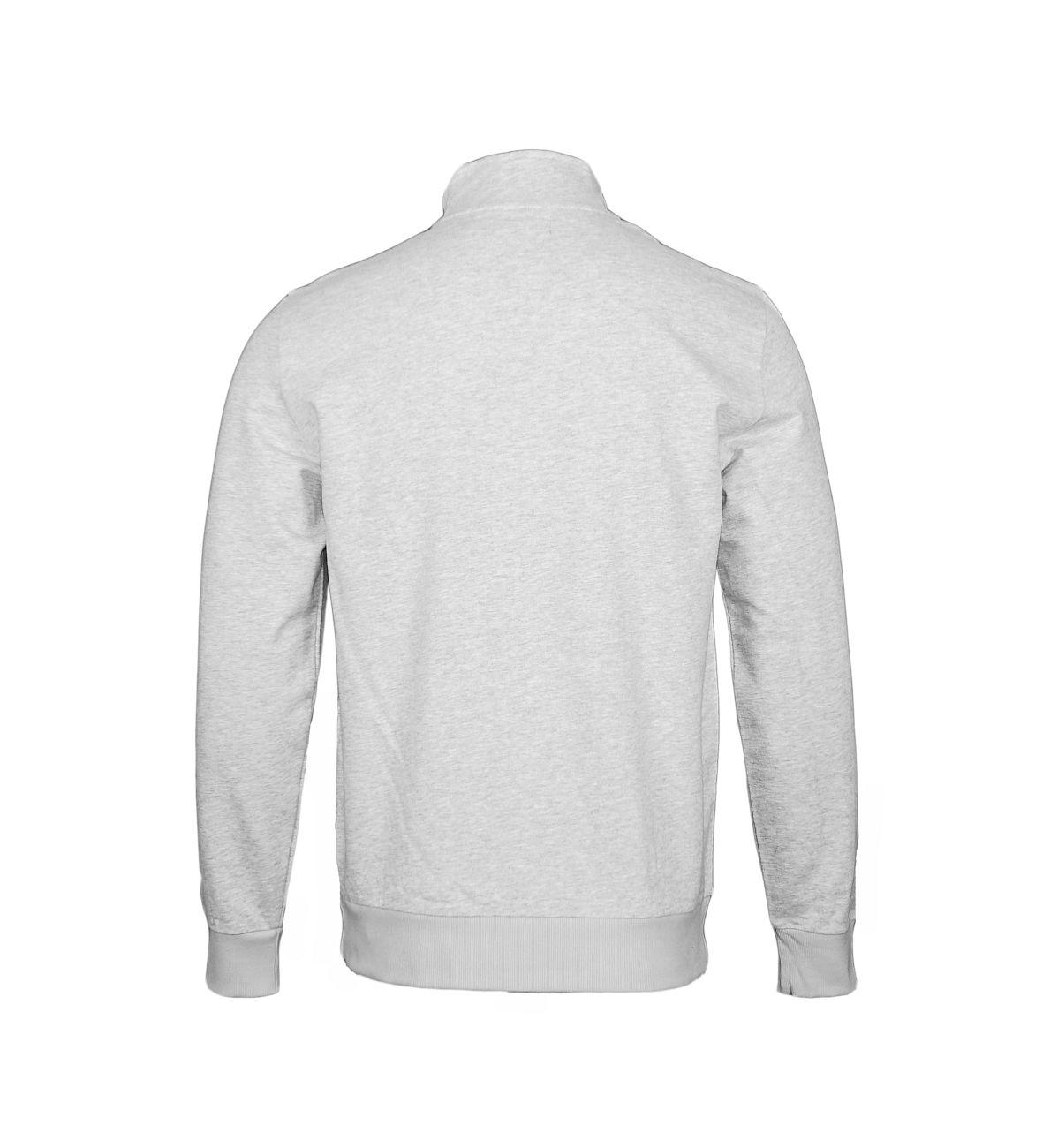 Emporio Armani Jacke Sweater Zip 111532 8P571 00048 GRIGIO MELANGE F18-EAJ1