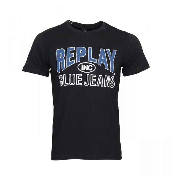 Replay T-Shirt Shirt Rundhals M3598.000 2660.098 schwarz WJ19-RPS2