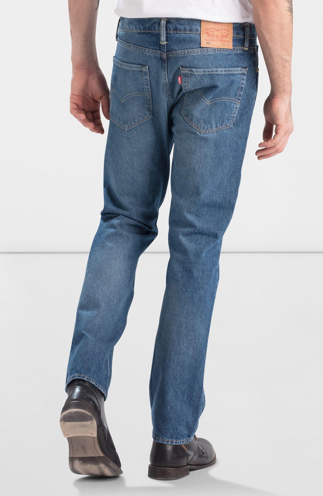 LEVIS Jeanshose Jeans 29507-0104 502 REGULAR TAPER MIDCITY W18-LJJ1