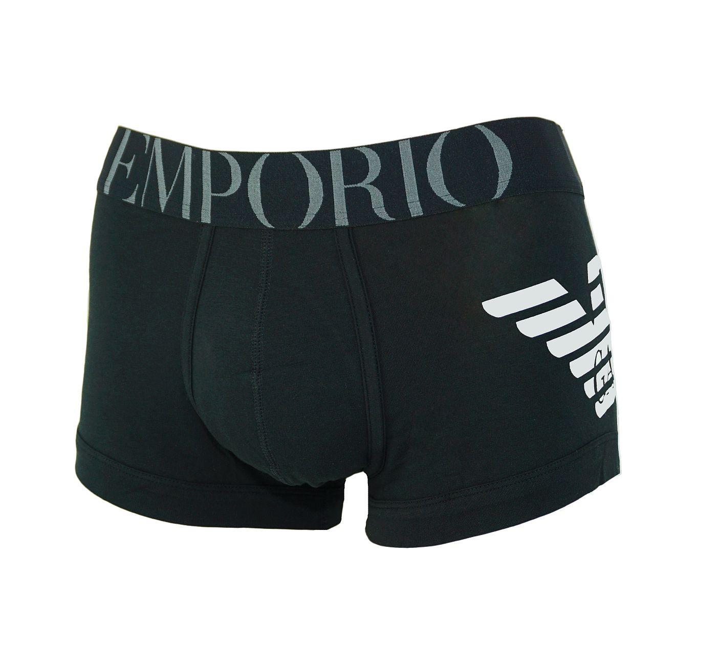 Emporio Armani Trunk Unterhose Short 111866 8P725 00020 NERO F18-EAT2
