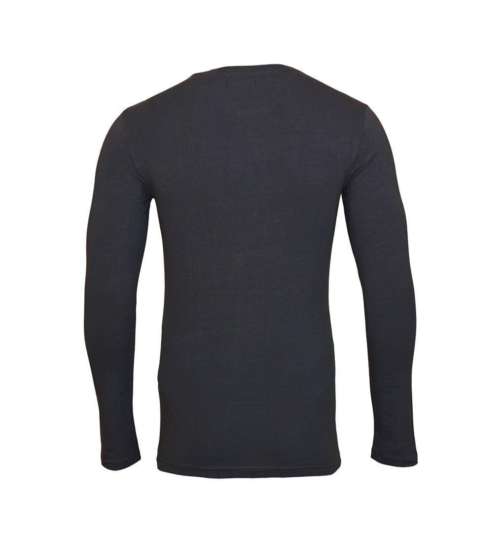Emporio Armani Longsleeve Shirt Rundhals 111023 7A512 08444 FUMO SH17-EALS1