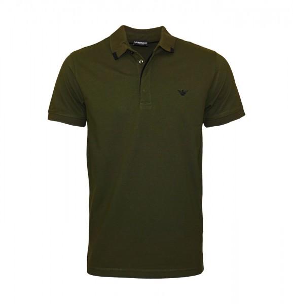 Emporio Armani Polo Poloshirt 211804 9P461 01781 Military Green WF19-EAP1