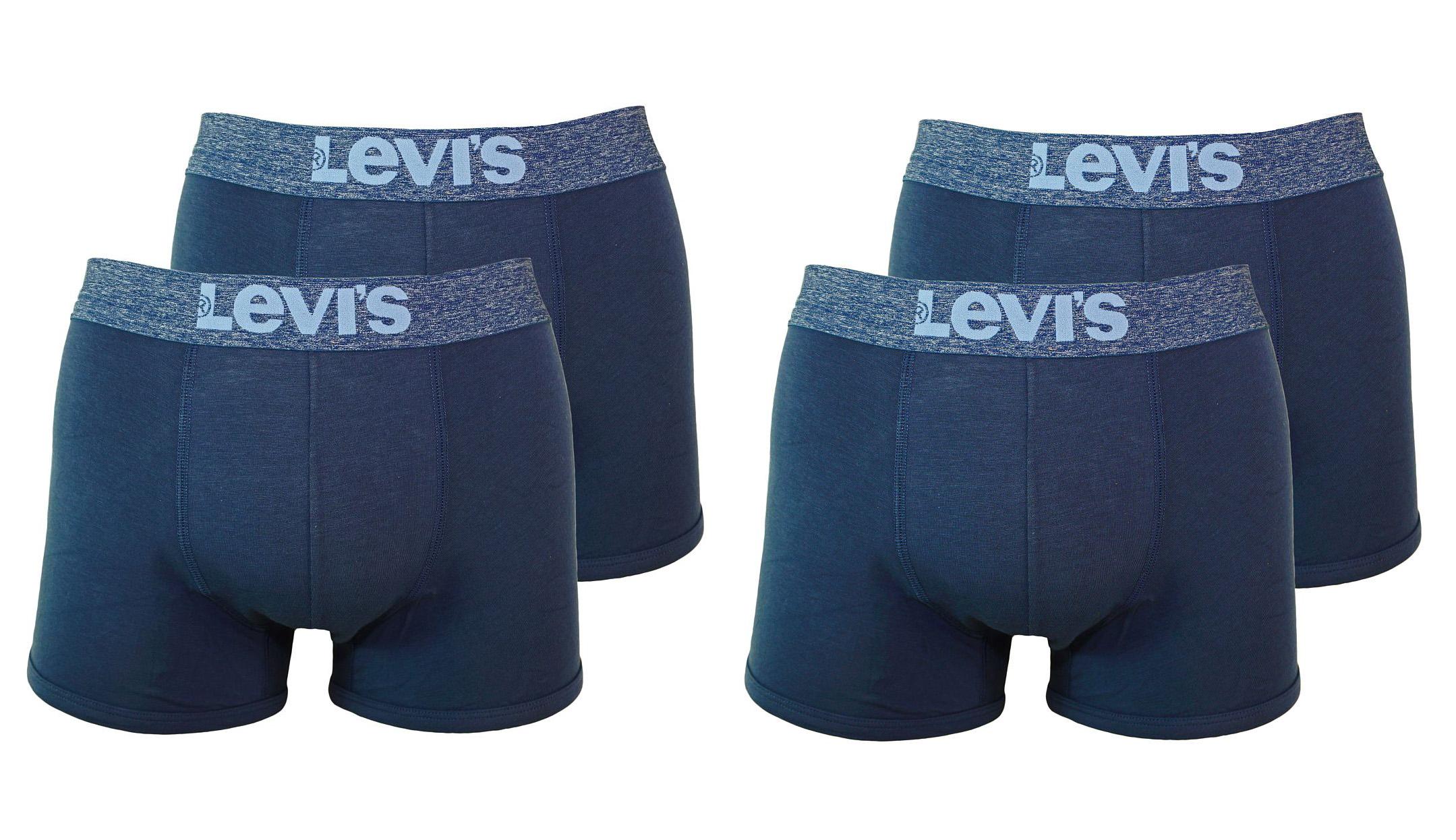 LEVIS Unterhosen 200SF 2 x 2er Pack Trunk 951008001 827 light denim SF17-LVS2