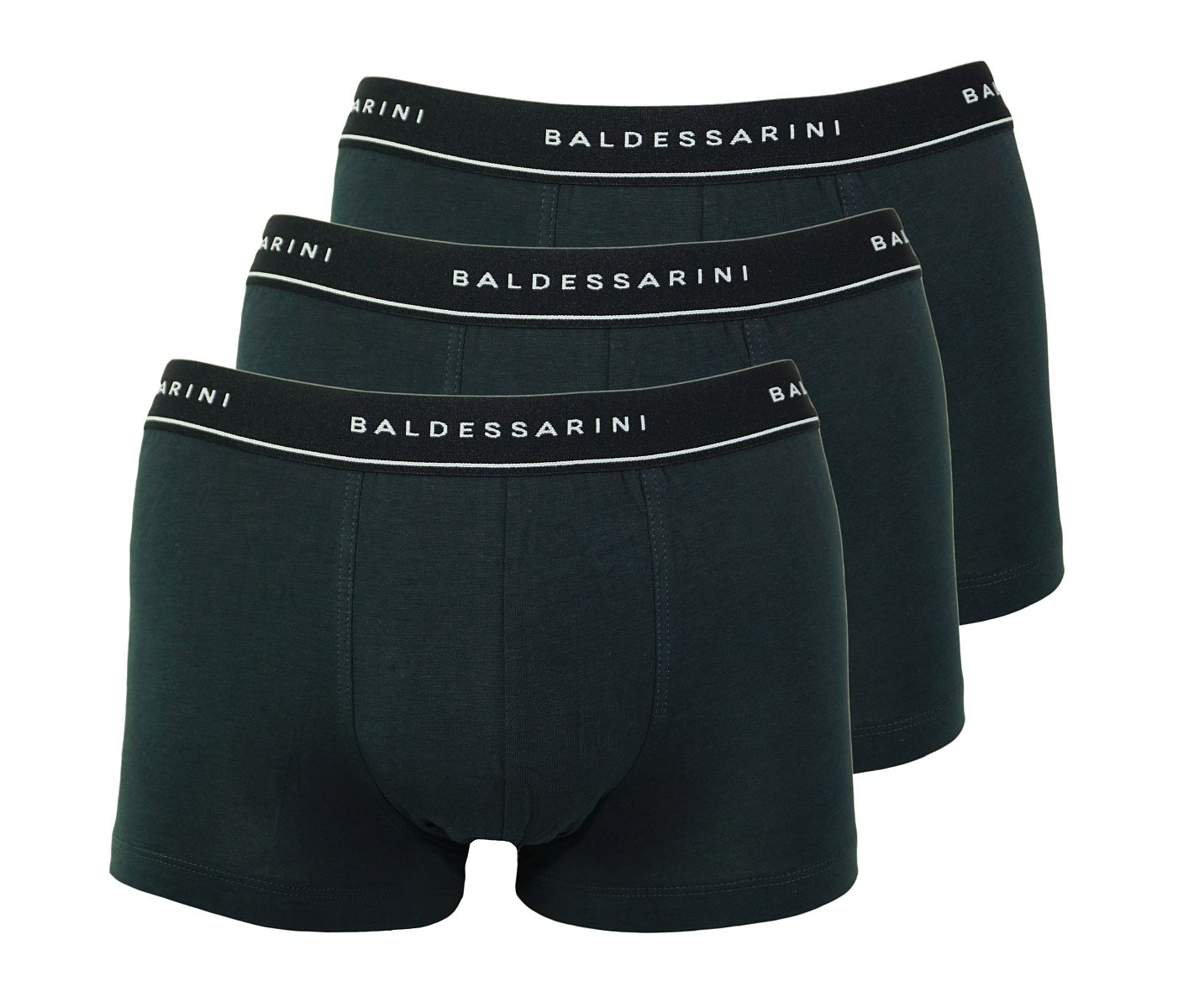 Baldessarini 3er Pack Shorts Trunks 90002 6061 9009 jet black W18-BSS1