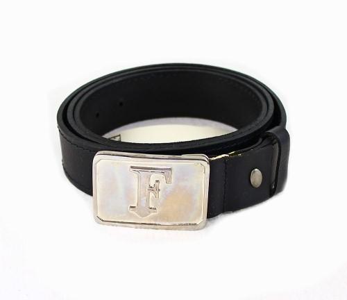 Gianfranco Ferre Ledergürtel Leder Gürtel 91021703 schwarz 110 cm