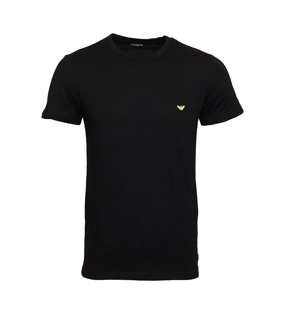 EMPORIO ARMANI 2er Pack Shirt T-Shirt schwarz, rot 111267 6P712 05720 Rundhals