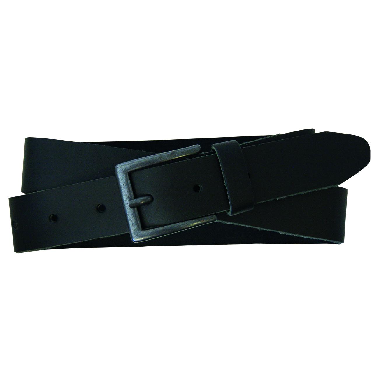 PETROL Industries Ledergürtel Leder Gürtel schwarz PE16 35909 black