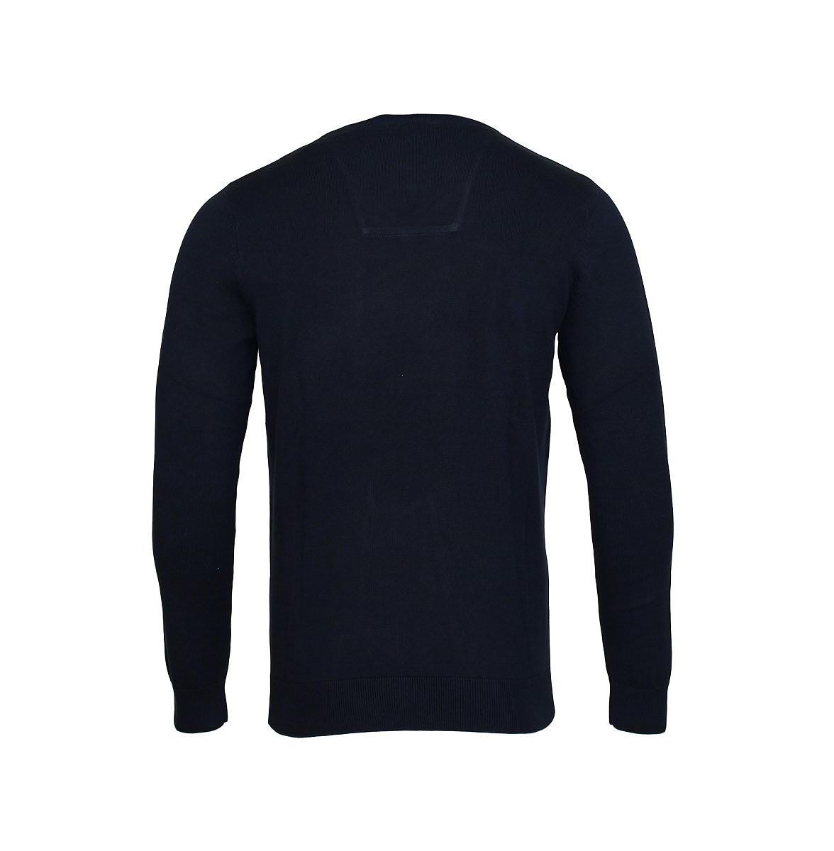 Tom Tailor Pullover V-Ausschnitt Herrenpullover Sweater 30197320910 6800 knitted navy