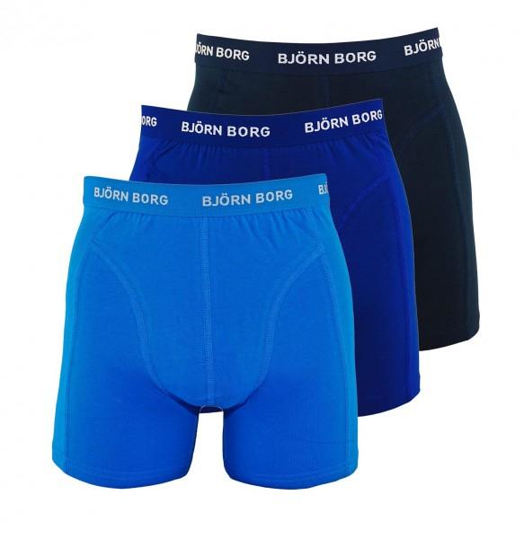 Björn Borg 3er Pack Boxer Boxershorts 9999-1024 71191 navy, blue HW19-BB1