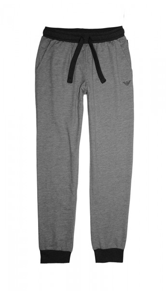 Emporio Armani Hose Jogginghose Trousers 111690 8A566 01548 GRIGIO MELANGE W19-EAH1