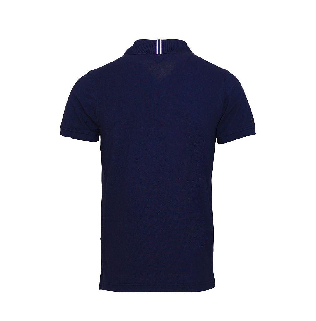 TOMMY HILFIGER Shirt Polohemd Poloshirt Polo navy 088789427 416 TH16