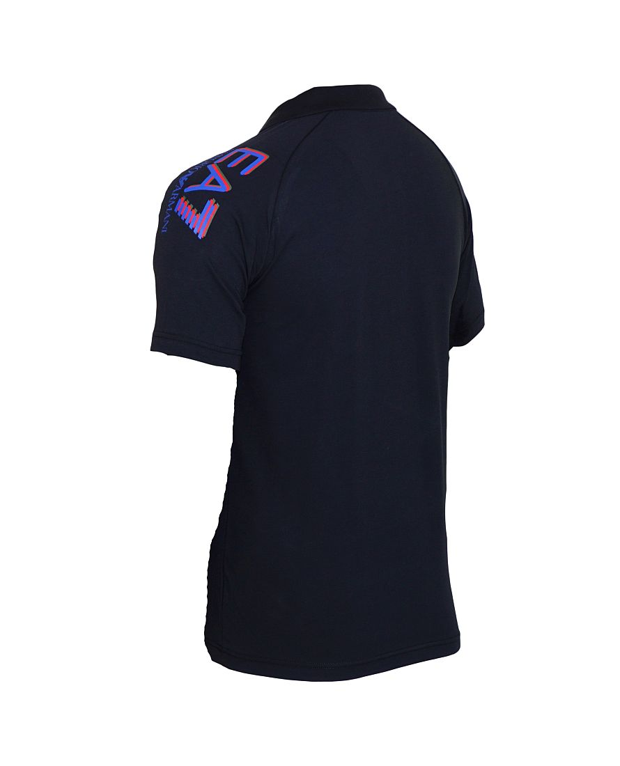 EA7 EMPORIO ARMANI Shirt Polohemd Poloshirt Polo navy 6XPF55 PJ03Z 1578 Blu Notte HW16