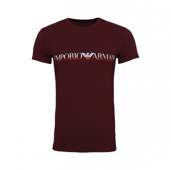 Emporio Armani T-Shirt Crew-Neck 111035 9A516 03256 darkbrown SH19-EAX1