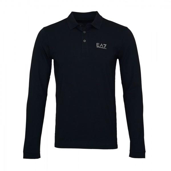 EA7 Emporio Armani Poloshirt Longsleeve 8NPF05 PJM5Z 0578 night blue