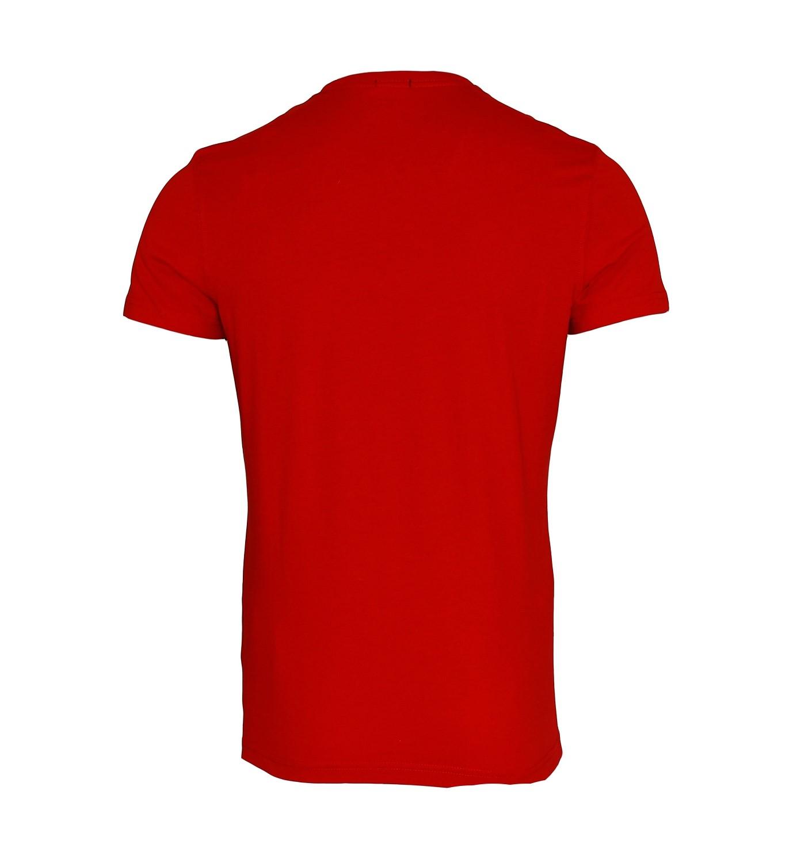 TOMMY HILFIGER Shirt T-Shirt Tee-Shirt Gow cn tee ss rot