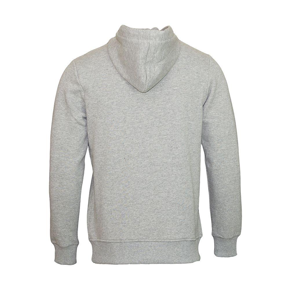 Jack & Jones Pullover jjorSteven Sweat Mix Pack Hood light grey mit Kapuze grau JJ16