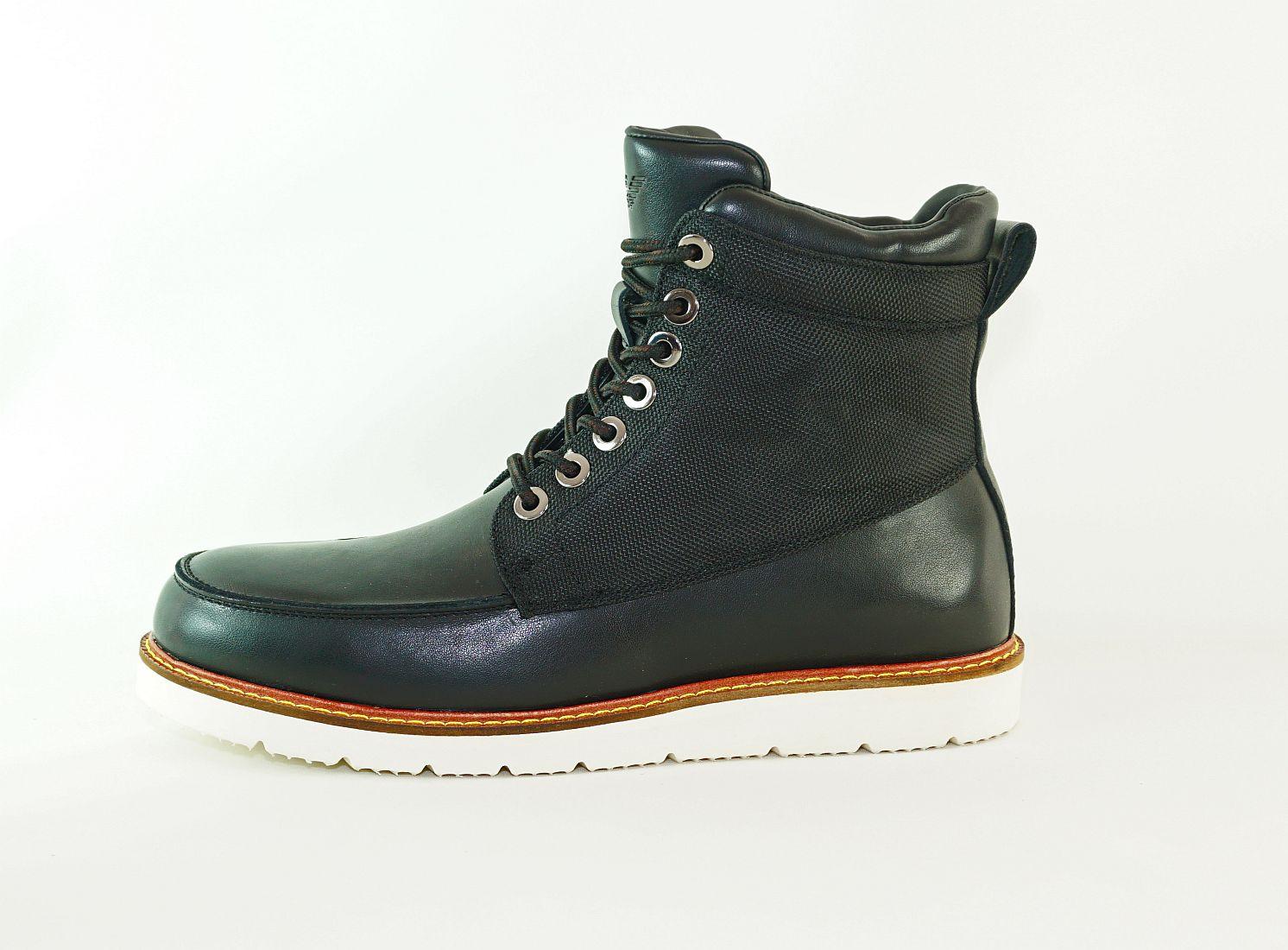 Armani Jeans Schuhe Stiefel Boot 935052 6A452 00020 Nero HW16-AJn