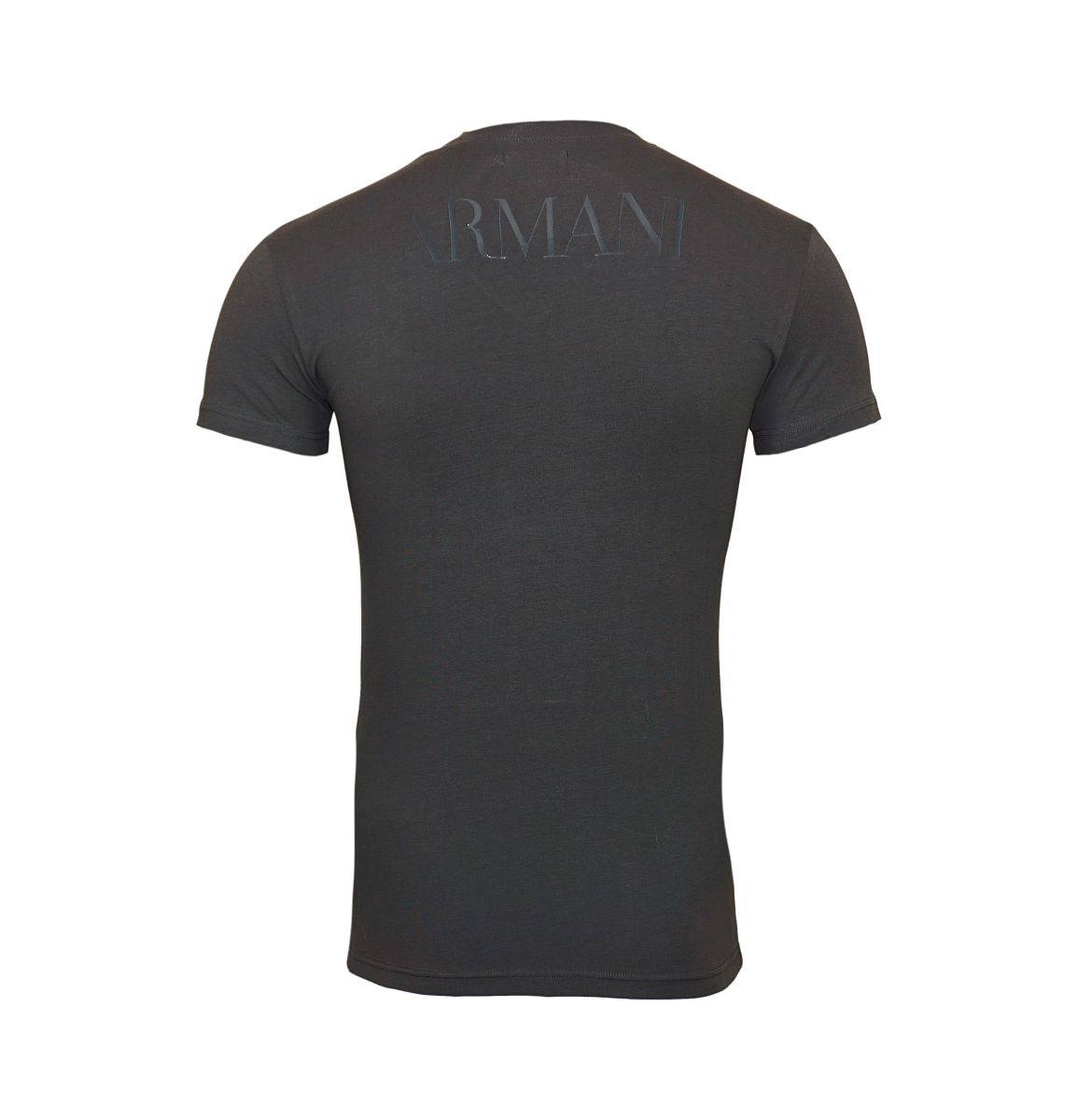 Emporio Armani T-Shirts V-Ausschnitt 110810 8P516 00044 ANTRACITE W18-EATS1
