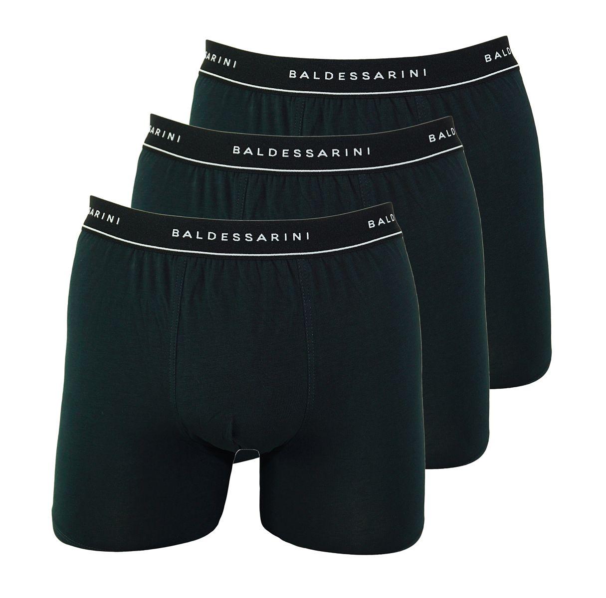 Baldessarini 3er Pack Shorts Boxershorts 90001 6061 9009 jet black W18-BSS1