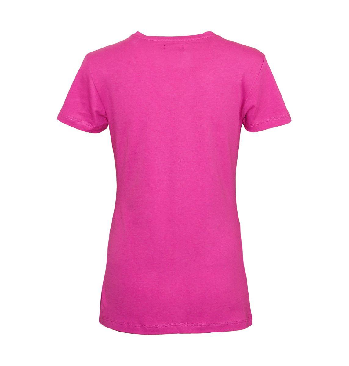 Emporio Armani Damen Shirt T-Shirt Rundhals 163139 7A317 03191 ORCHIDEA HW17-EADS1