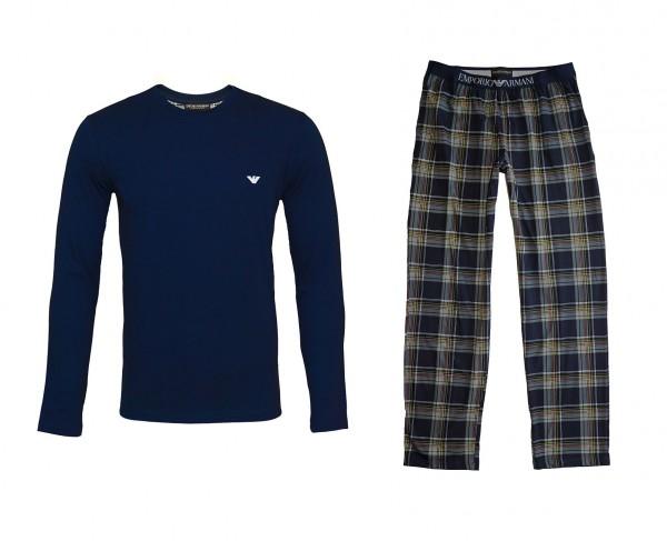 Emporio Armani Pyjama Schlafanzug 111791 0A567 57735 navy HW20-AS1